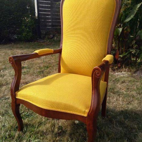 Rénovation de fauteuil - Finistère